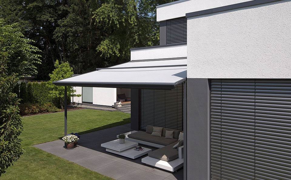 detached awnings reference projects weinor awnings patio roofs glasoase
